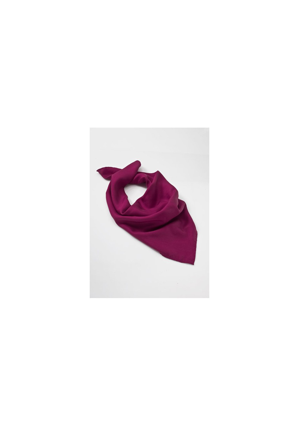 Women's Silk Scarf in Fuchsia Pink