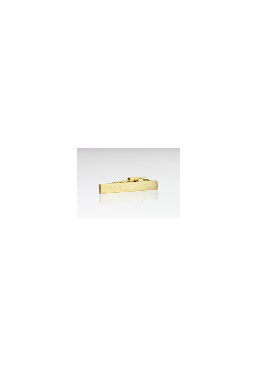Brass Tie Bar in Narrow Size