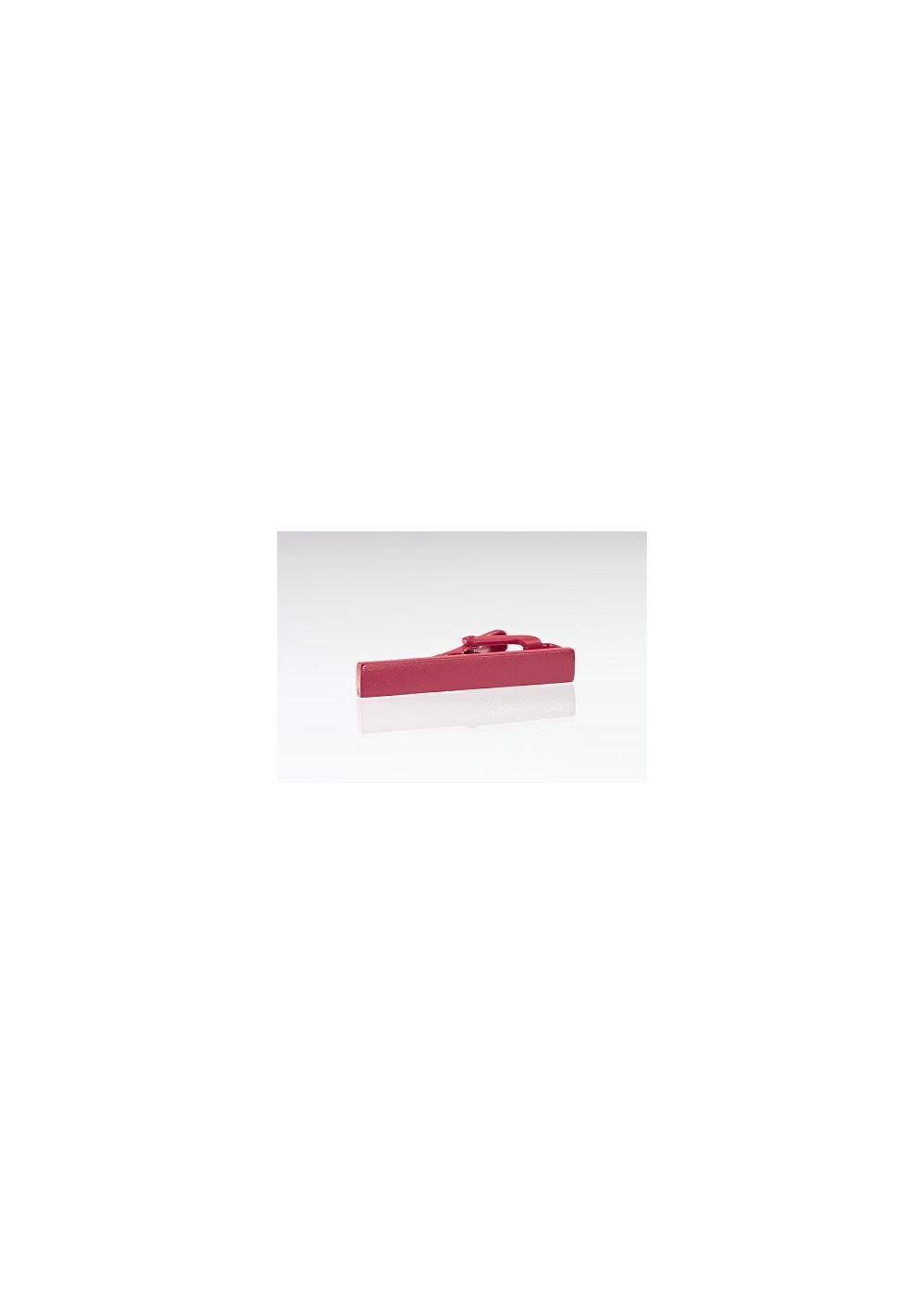 Matte Pink Colored Tie Bar