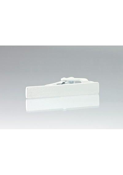 White Colored Narrow Tie Bar