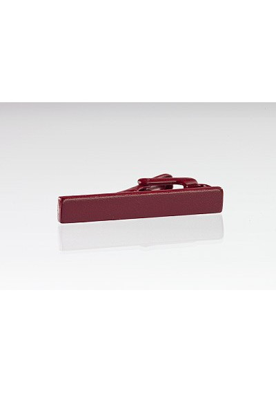 Burgundy Colored Tie Bar