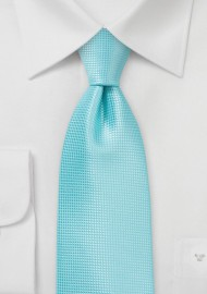 Summer Necktie in Aruba Blue