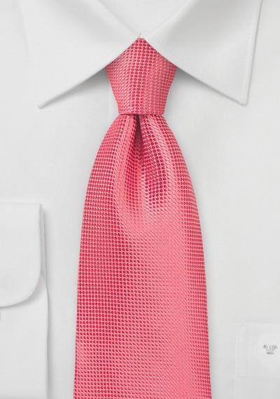 Summer Necktie in Coral Reef