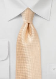 Elegant Men's Tie in Peach Fuzz Color