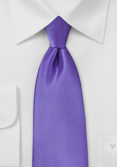 Freesia Purple Kids Sized Tie