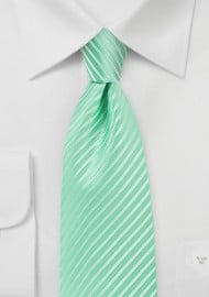 Opal Green Colored Necktie