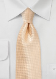 Kids Sized Tie in Peach Fuzz Color