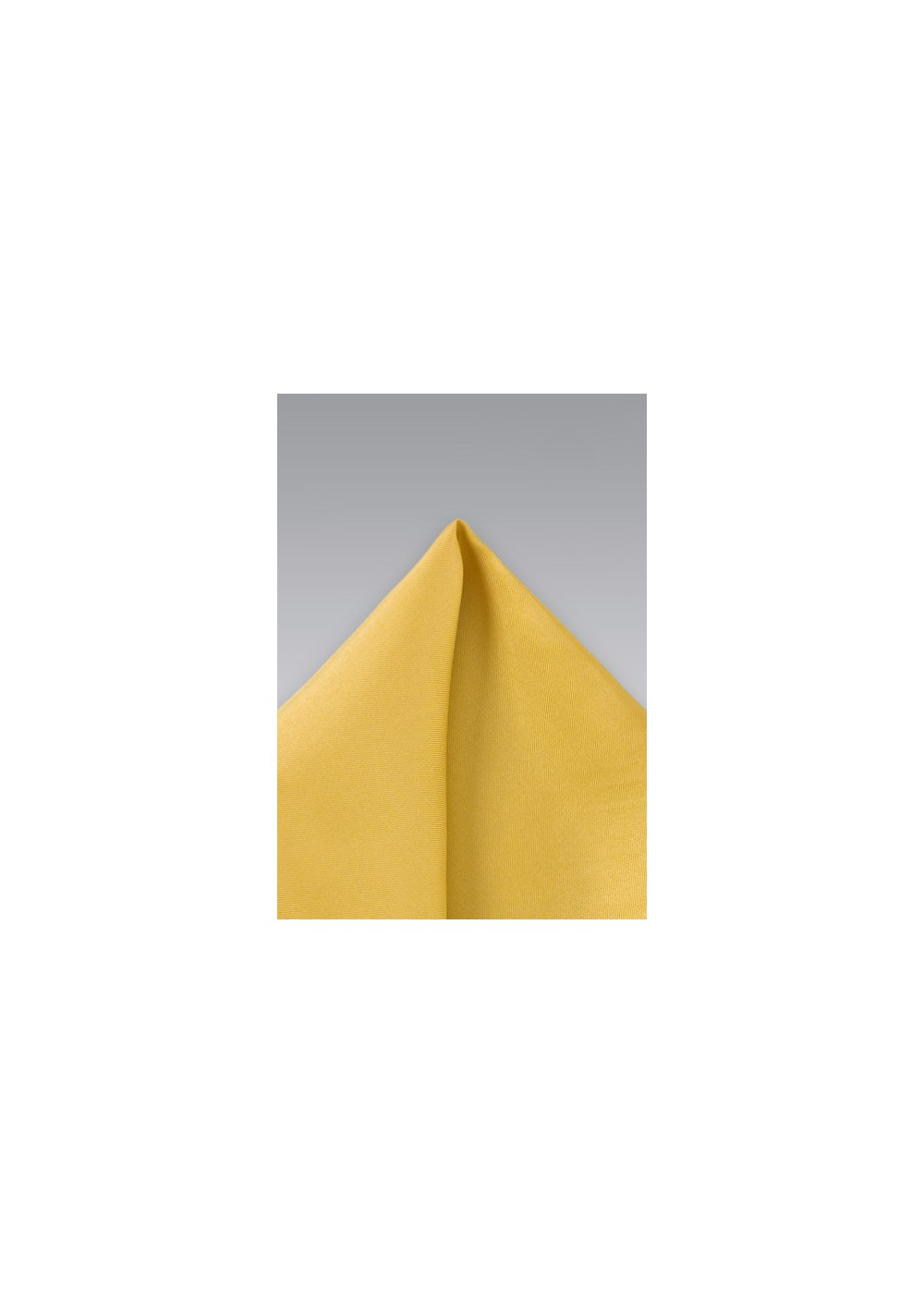 Golden Yellow Silk Pocket Square