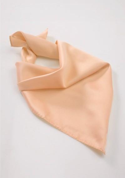Peach Orange Womens Neck Scarf