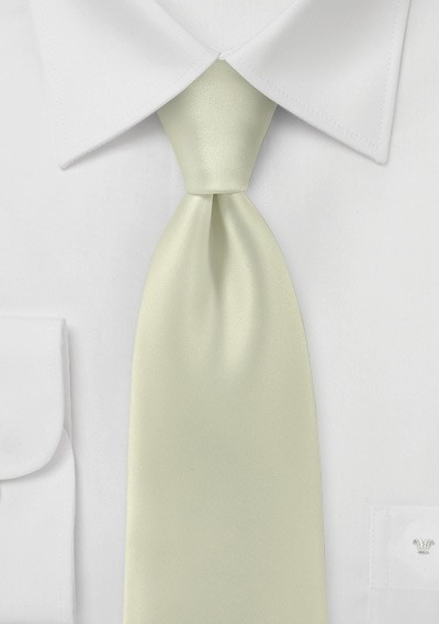 Light Vanilla Yellow Necktie