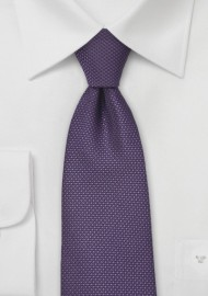Grape Colored Tie in XXL Length