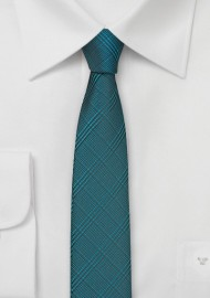 Skinny Tie in Dragonfly Blue