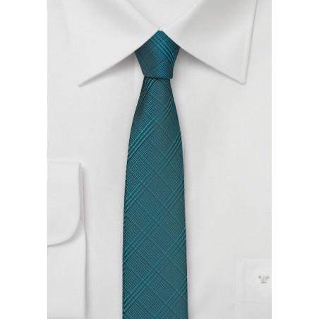 Skinny Tie in Dragonfly Blue