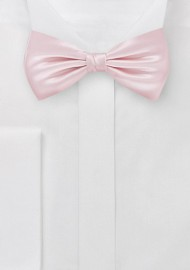 Elegant Bow Tie in Antique Blush