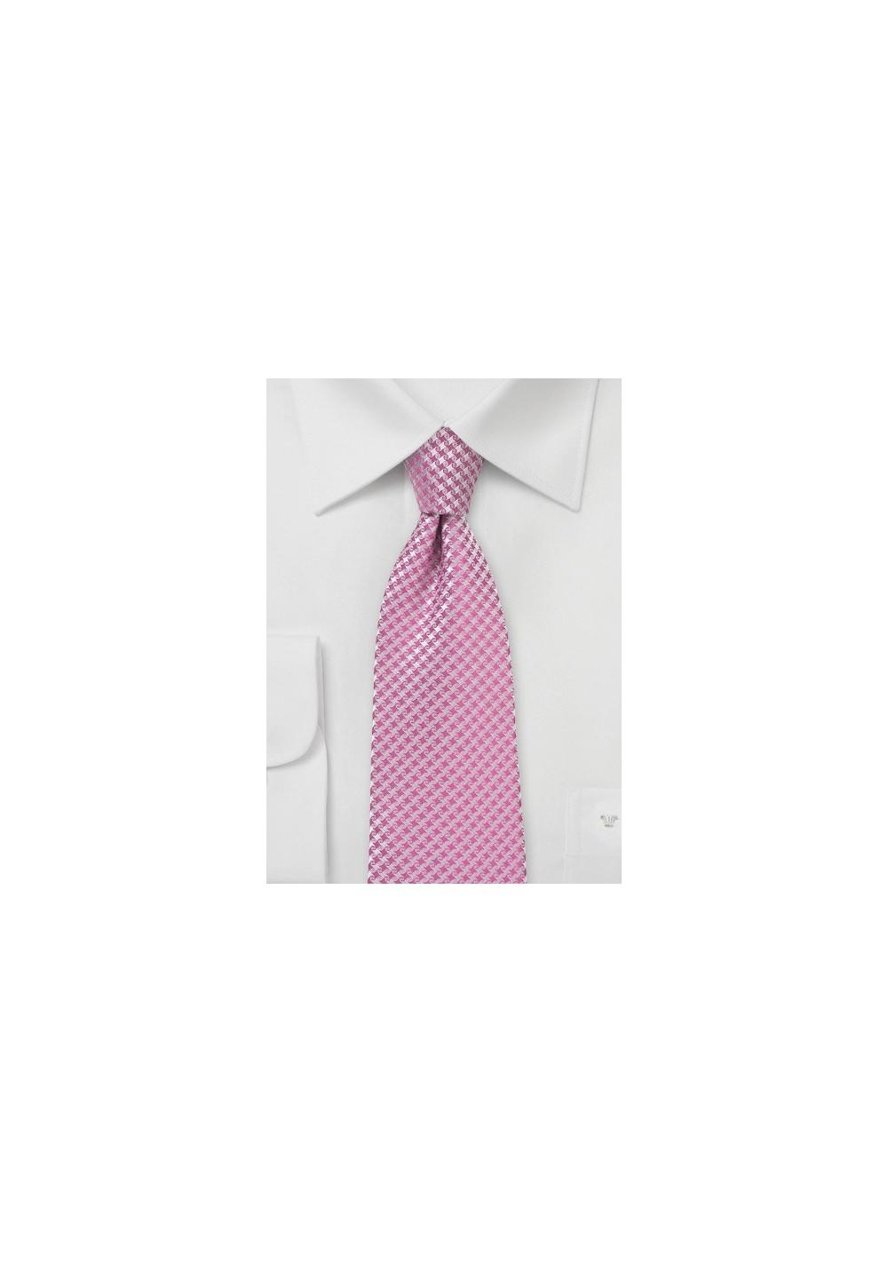 Fun Colored Kids Tie Bubblegum Pink