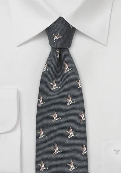 Flying Duck Tie in Dark Espresso Brown