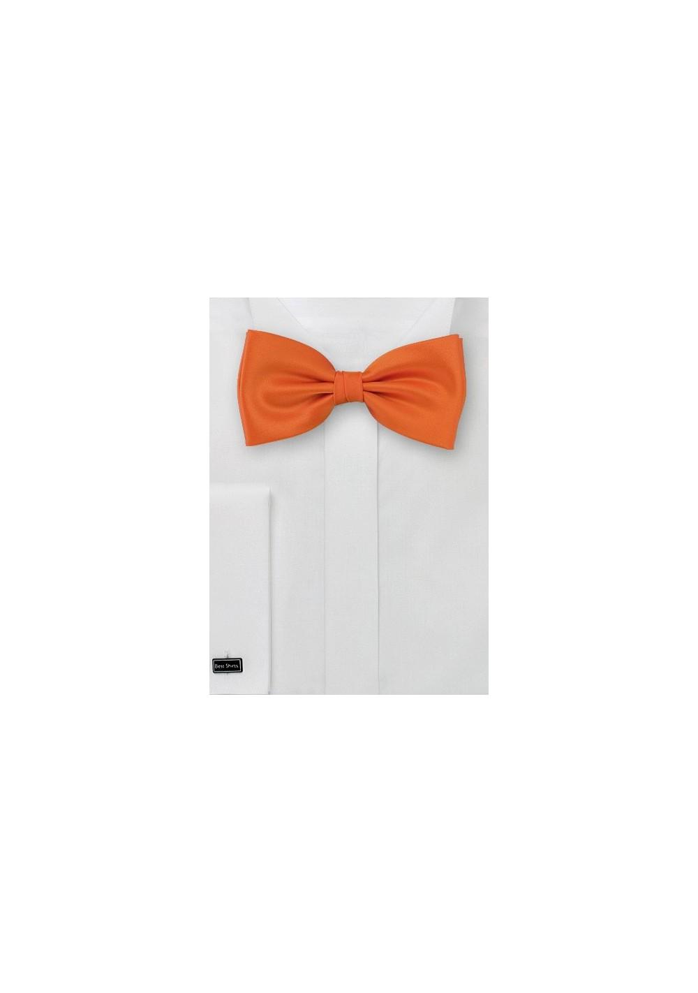 Kids Bow Tie in Orange