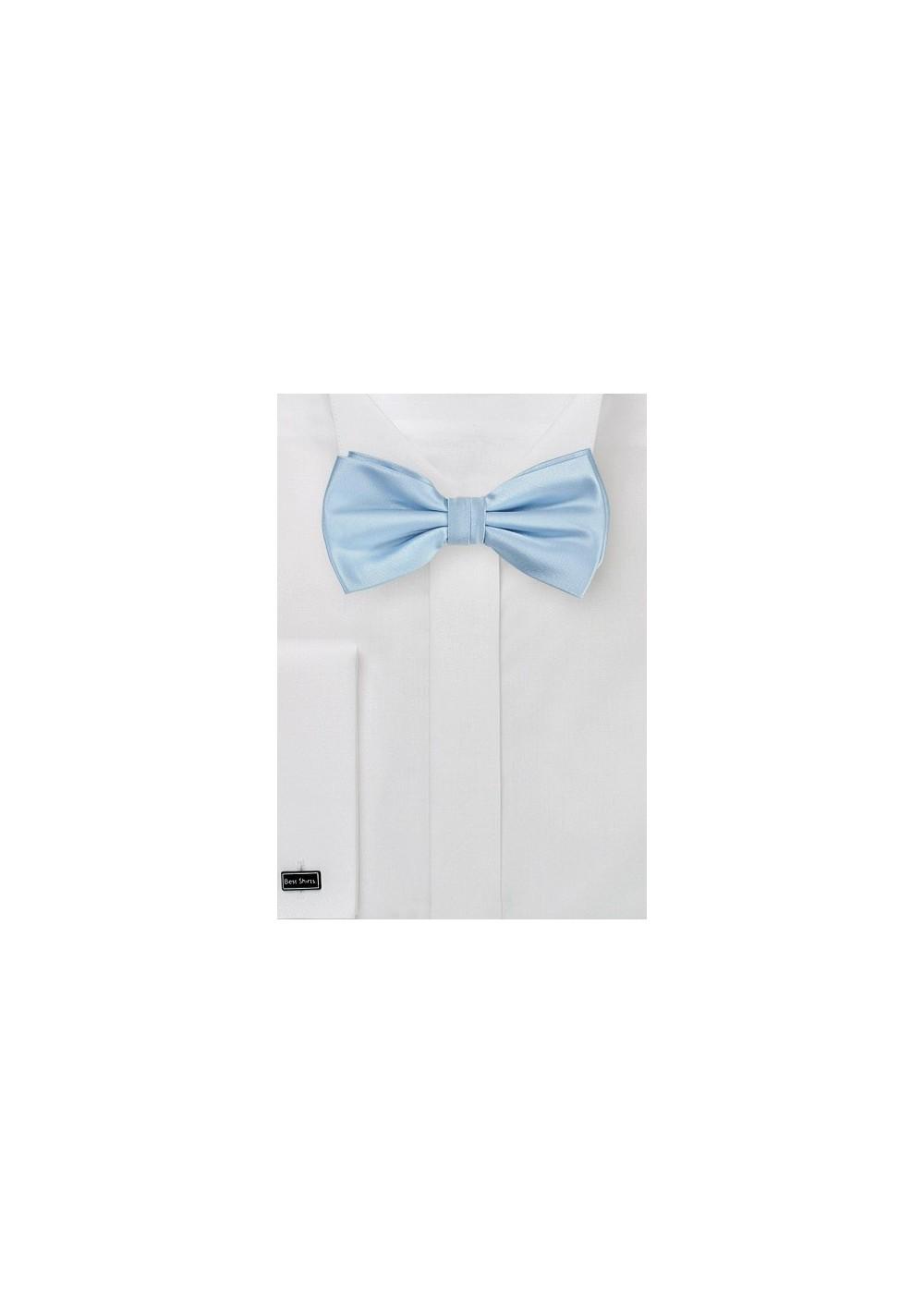 Light Blue Bow Tie for Kids