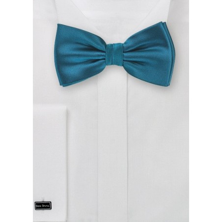 Turquoise Blue Bow Tie in Kids Size