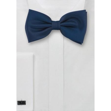 Dark Navy Kids Bow Tie