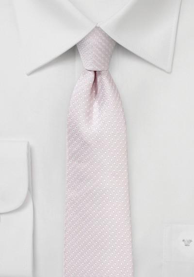 Petal Pink Skinny Tie