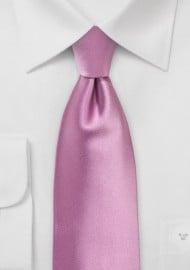 Orchid Color Necktie