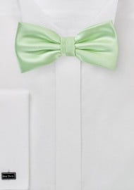 Light Mint Green Bow Tie