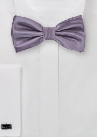 Vintage Purple Colored Bow Tie
