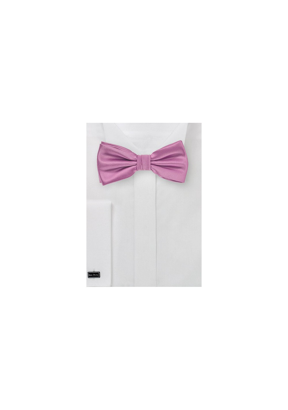 Orchid Pink Colored Bow Tie