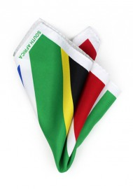South Africa Flag Pocket Square