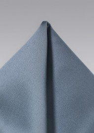 Classic Gray Pocket Square