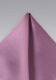 Rose Purple Pocket Square