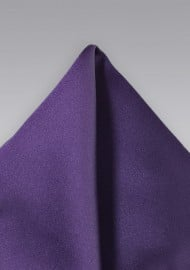 Majestic Purple Pocket Square