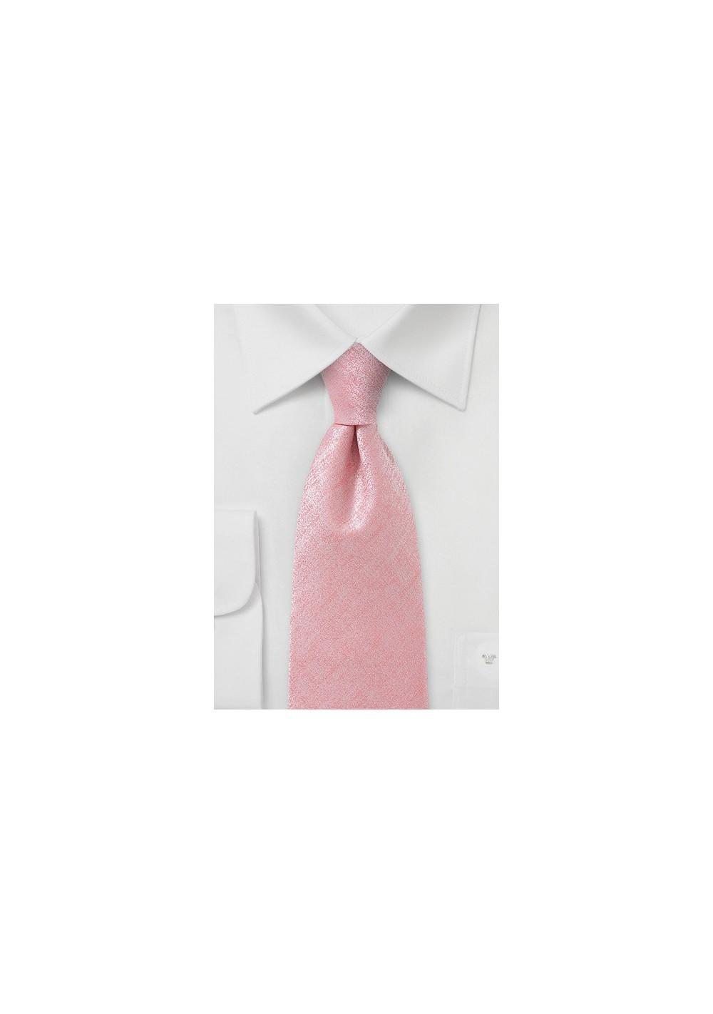 Heatherd Tie in Pink for Kids