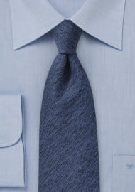Winter Wool Tie in Royal Blue