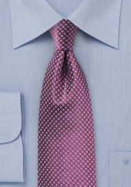 Grape Colored Silk Tie by Chevalier