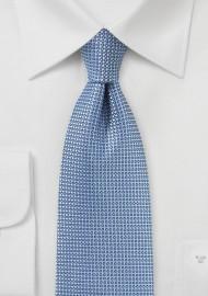 Textured Designer Tie in Blue