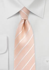Kids Tie in Nude Peach
