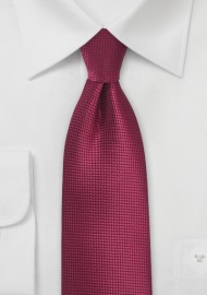 Kids Tie in Black Cherry Color