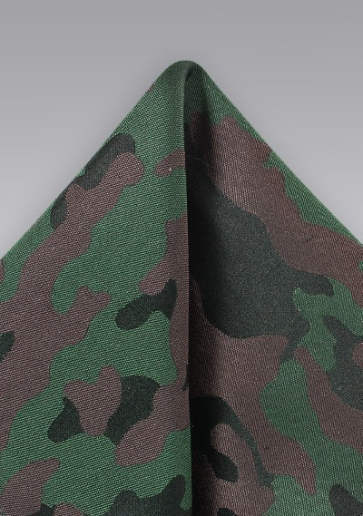 Camo Silk Pocket SquAre