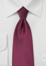 Claret Red Kids Tie