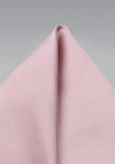 Soft Pink Colored Pocket Square