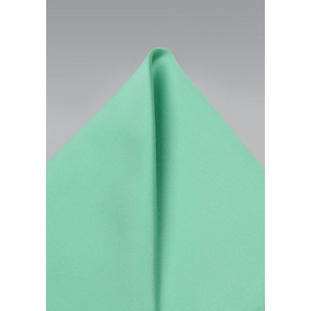 Bright Mint Pocket Square
