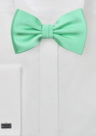Bright Mint Bow Tie
