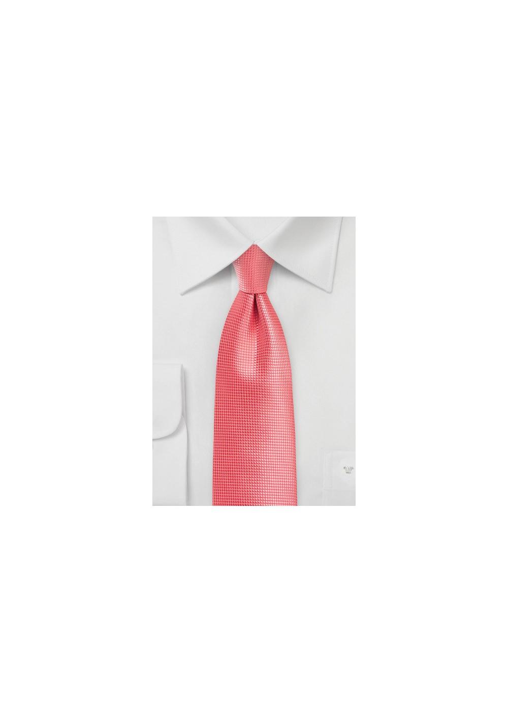 Kids Tie in Georgia Peach Color