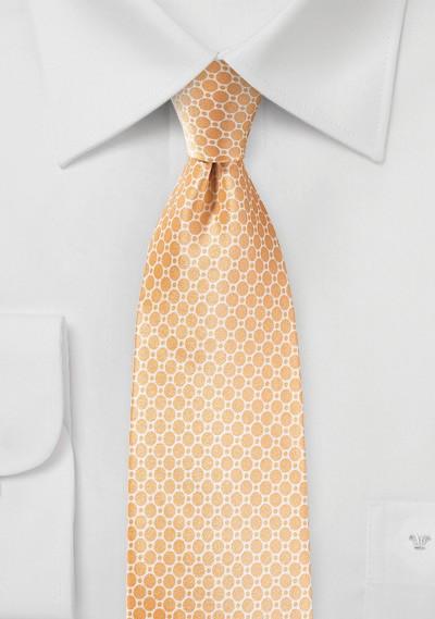 Peach Fuzz Silk Tie