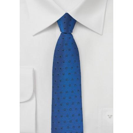 Royal and Navy Skinny Designer Tie