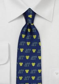 Delta Upsilon Silk Necktie