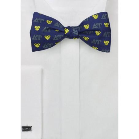Silk Bow Tie for Delta Upsilon