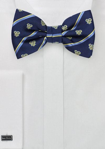 Crested Bow Tie for Delta Upsilon